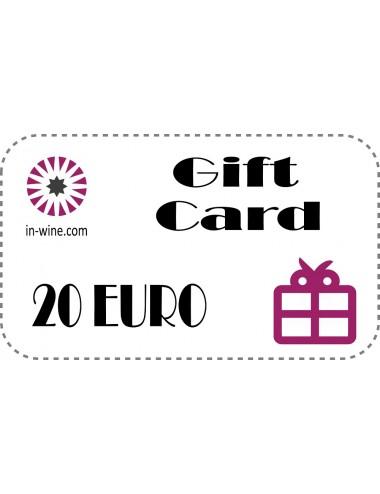GIFT VOUCHER in-wine.com 20€