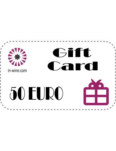 GIFT VOUCHER in-wine.com 50€